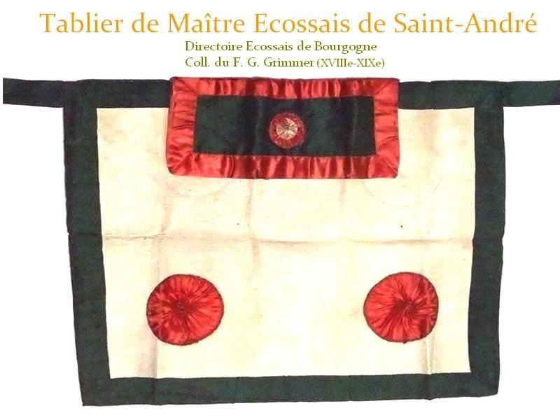TABLIER MESA XVIIIe - Directoire de Bourgogne